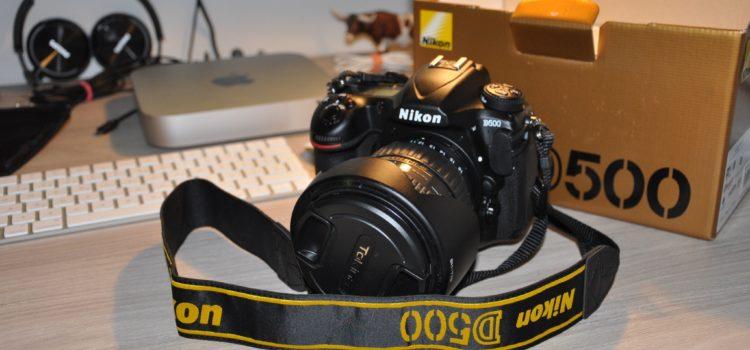 Pribudol nám do rodiny tento silák – Nikon D500